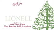 Picture of Christmas Tree (label)